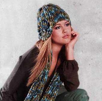 Шапки вязані схеми і молелі