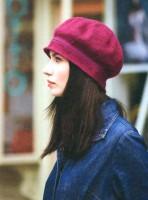 берет шапка вязание