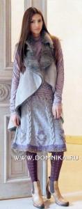 Вязание юбки спицами